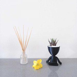 larry pot planter 3d printed royal art and decor