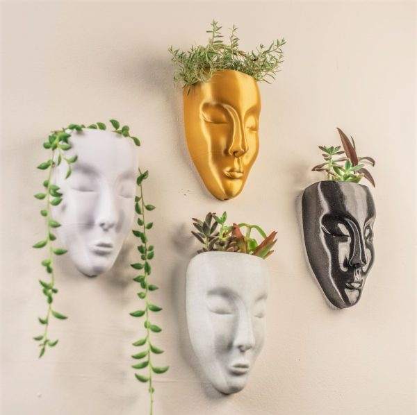 Luna collection wall planter